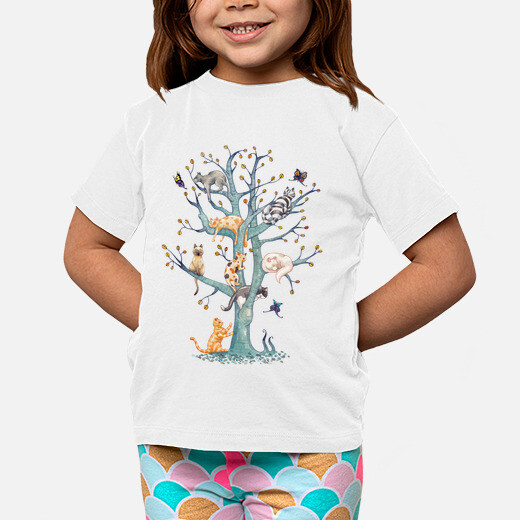 Ropa infantil The tree of cat life
