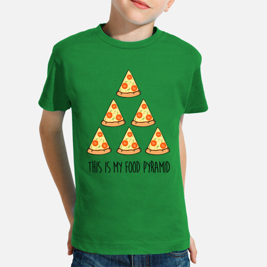 Ropa infantil This is my food pyramid