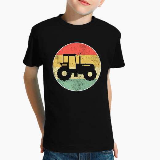 Ropa infantil tractor retro