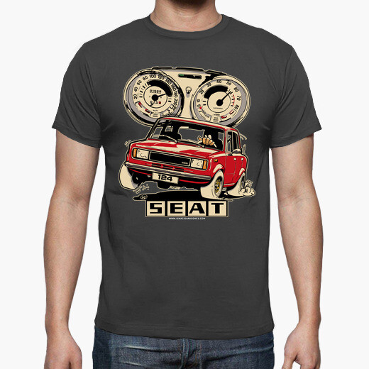 Seat 124 red t-shirt