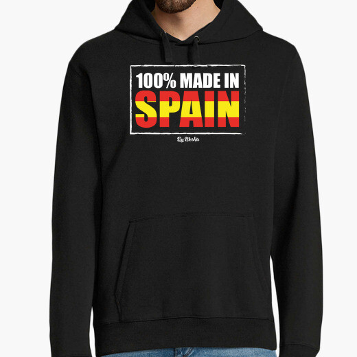 Sudadera 100x100 made in Spain (color)