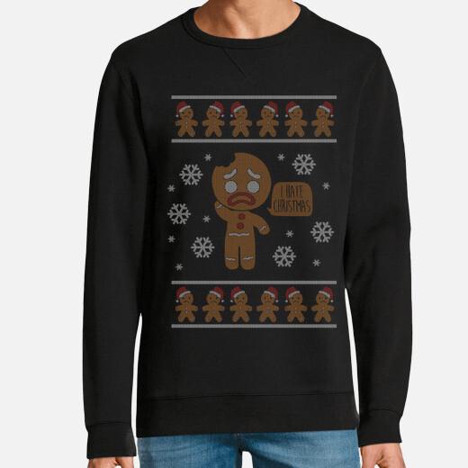 Sudadera I hate christmas (Ugly sweater)