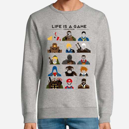 Sudadera Life is a game
