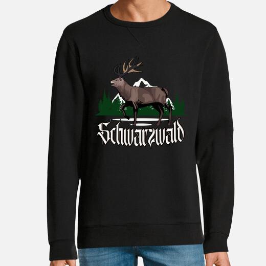 Sudadera schwarzwald hirsch coole...