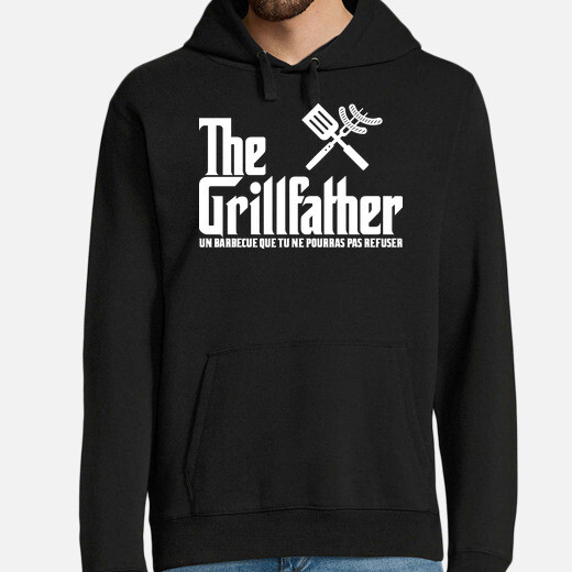 Sudadera The Grillfather (fonce)