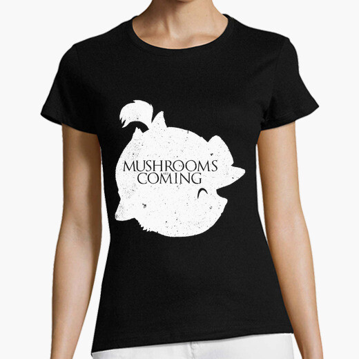 T-shirt funghi are coming