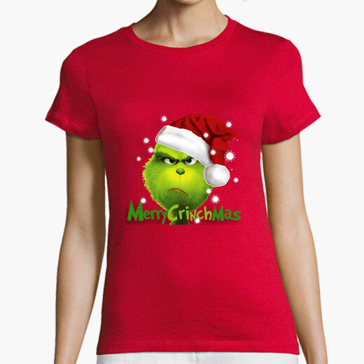 T-shirt grinch natale