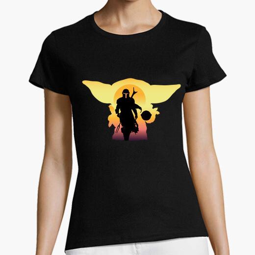 T-shirt il mandaloriano 2, donna