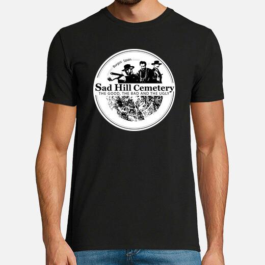 T-shirt logo sad hill man