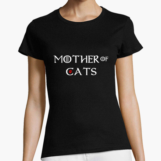 T-shirt Mother of cats