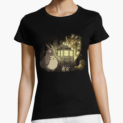 Tardis in the forest t-shirt