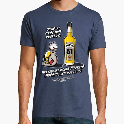 Tee-shirt Covid 51 mieux que le 19