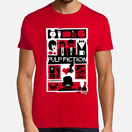 Tee-shirt Pulp Fiction (Saul Bass Style) 3