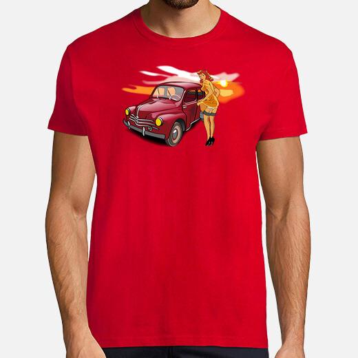 Tee-shirt Savoie Lactée, 4cv