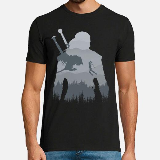 Tee-shirt Silhouette sauvage
