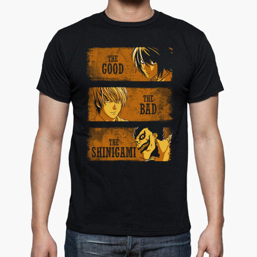 Tee-shirt The Good, the Bad and the Shinigami