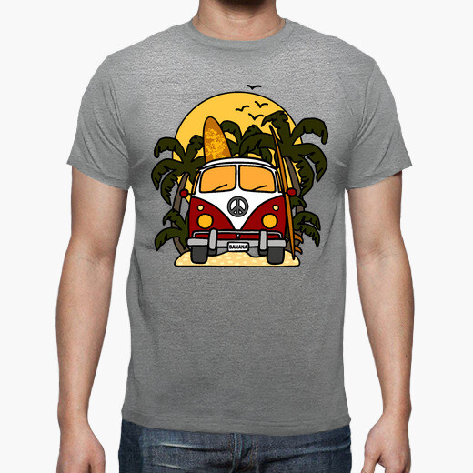 Tee-shirt Van Banana Surf