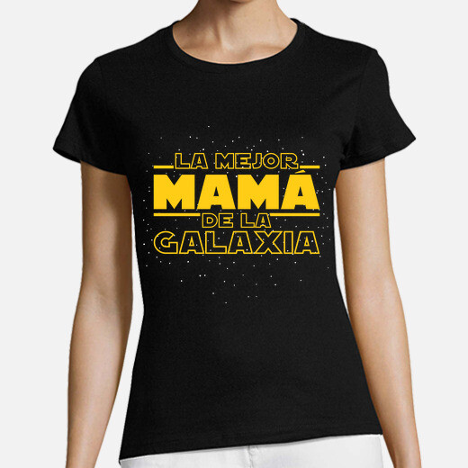 The best mom in the galaxy t-shirt