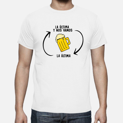 The last beer t-shirt