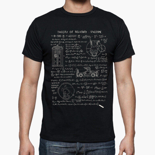 Theory of relativity t-shirt