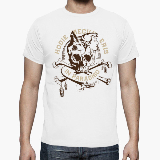 Uncharted 4 - pirates t-shirt