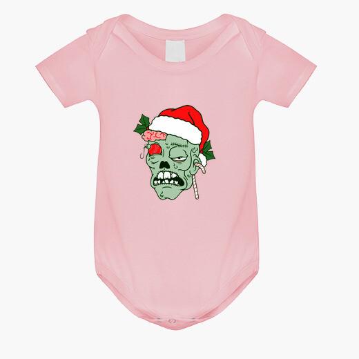 Vêtements enfant bébé zombie noël corps