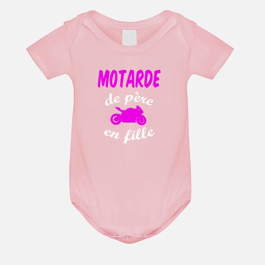 Vêtements enfant Motarde de père en...
