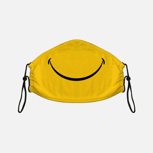 visage souriant souriant