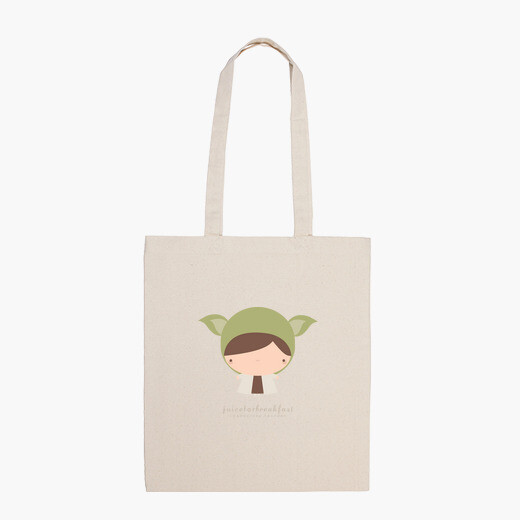 Yoda chibi - sac à bandoulière avec...