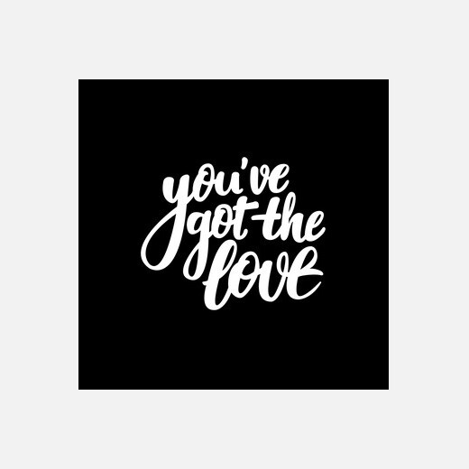 you've got the love